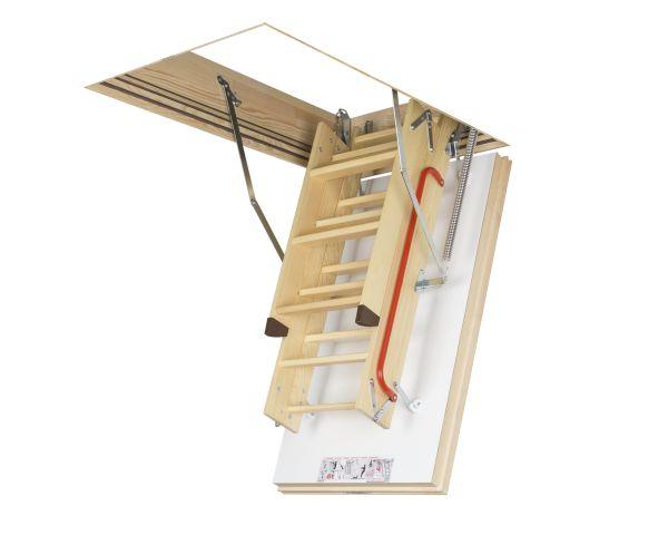 LWT FAKRO, la scala retrattile super isolante