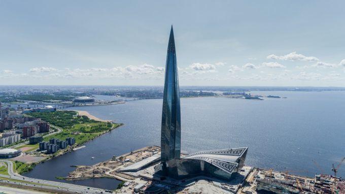 Lakhta Center di San Pietroburgo, miglior grattacielo dell'anno