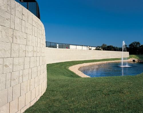 muro di contenimento Landmark