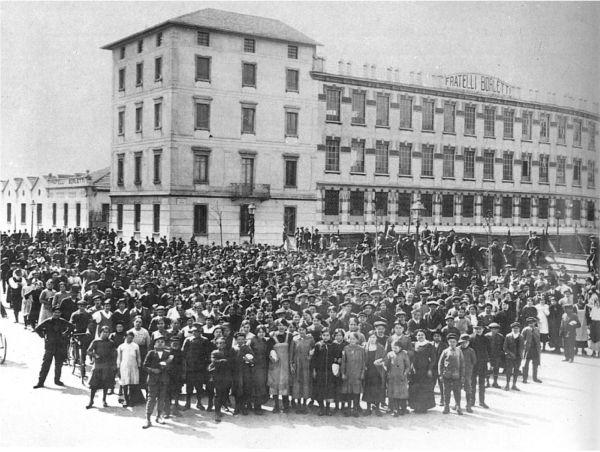 Un'immagine storica della Borletti, 1907