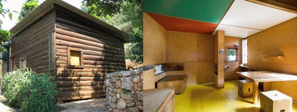 Le Cabanon, micro casa progettata e realizzata da Le Corbusier tra il 1951 e il 1952