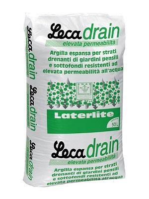 LecaDrain - Strato drenante per giardini pensili pedonabili e carrabili