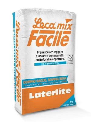 Lecamix Facile - premiscelato per massetti per esterni
