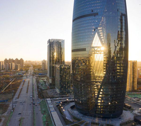 Leeza SOHO Tower: il grattacielo con l'atrio più alto al mondo