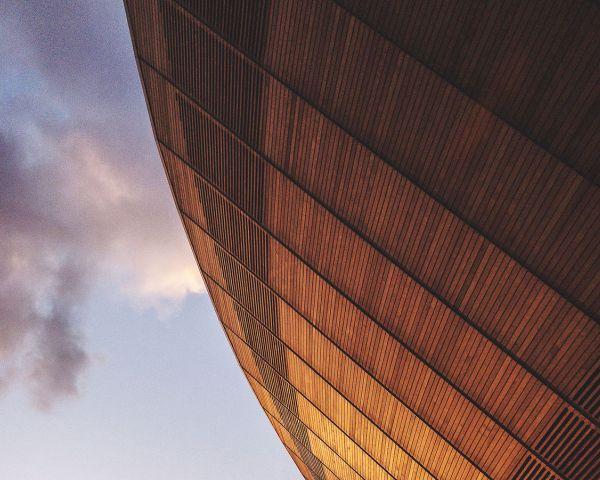 Cresce il settore delle costruzioni in legno, anche di grandi dimensioni