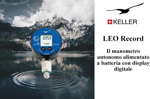 Datablogger LEO Record di Keller