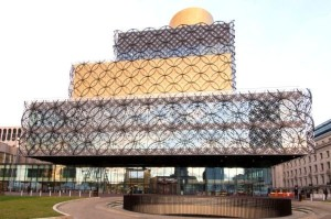 Prestigioso intervento nella 'Library of Birmingham'