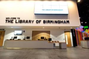 Library of Birmingham, interno