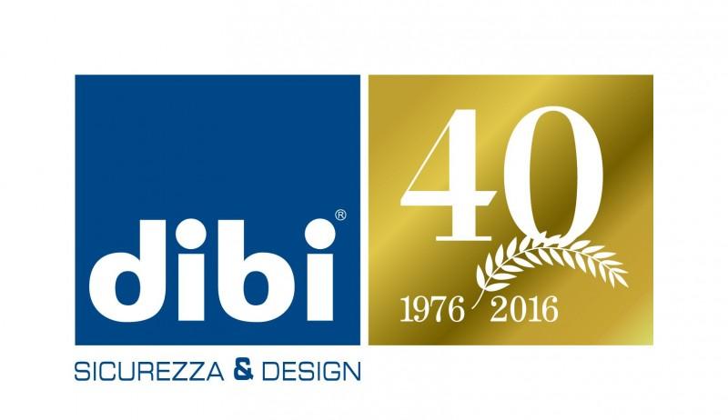 Logo 40 anni Dibi