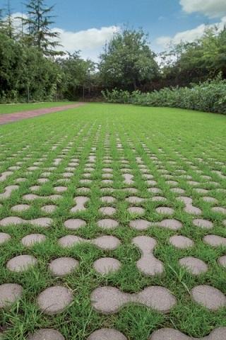 Le pavimentazioni drenanti di ferrari bk - Pavimentazione giardino autobloccanti ...