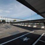 Le tettoie Kopron per il parcheggio dell'aeroporto di Fiumicino