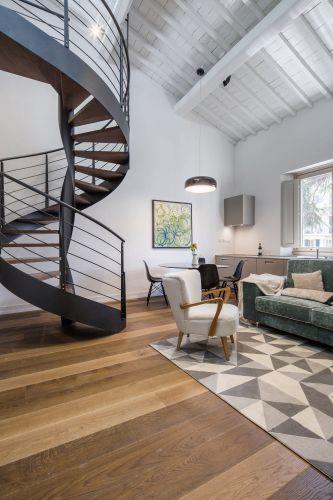 Particolare di uno degli appartamenti M7 Contemporary Apartments di Firenze