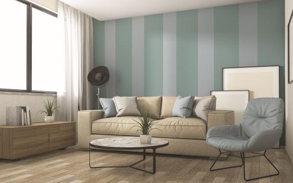 Pitture MaxMeyer: Le righe verticali donano slancio e ampiezza agli ambienti piccoli
