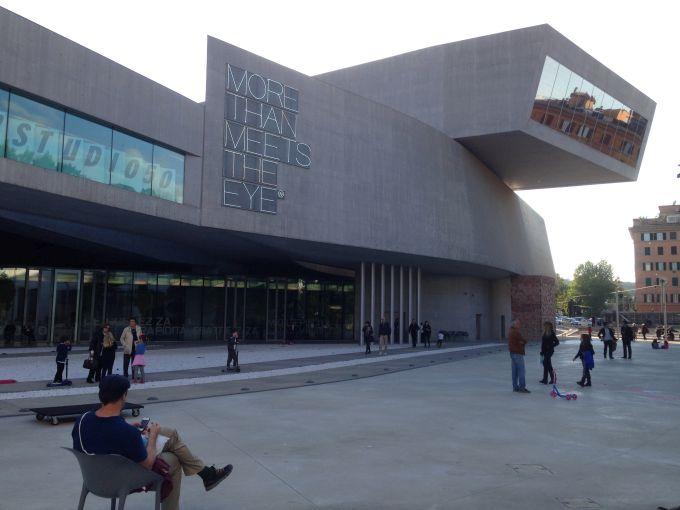 MAXXI, il Museo d'Arte a Roma