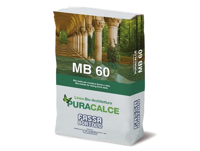 Bio-malta MB 60 per muratura faccia a vista
