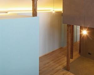 Un moderno loft nel rispetto dell'architettura esistente