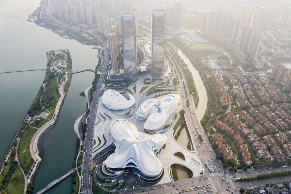 MICA-In Cina il complesso museale e artistico dalle forme organiche
