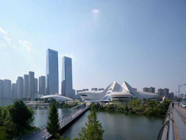 Mica - Centro artistico e culturale in Cina dalle forme sinuose