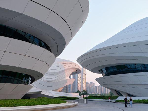 MICA-centro artistico e museale in Cina composto da 3 differenti strutture
