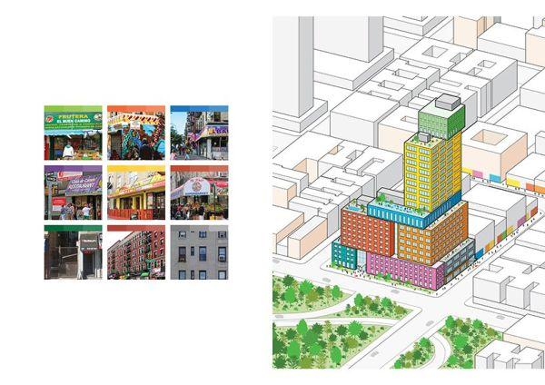 Il design del Radio Tower hotel di Manhattan si ispira alle colorate vetrine del vicino quartiere spagnolo