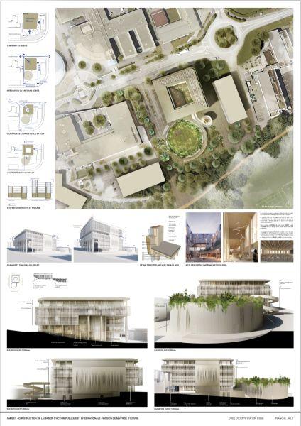 MAPI Centro di formazione e ricerca presso l'Università di Annecy, in Franciaz. Progetto di Alfonso Femia