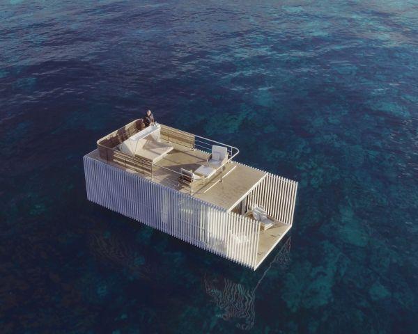 Punta de Mar Marina: la camera d'albergo galleggiante, lussuosa e sostenibile