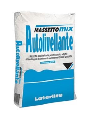 MassettoMix Autolivellante - premiscelato per massetti autolivellanti a basso spessore