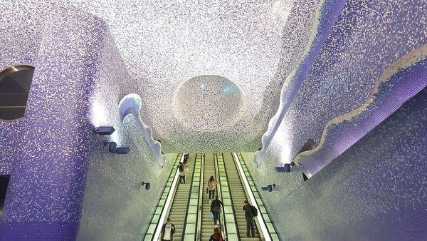 Metropolitana Napoli, stazione Toledo