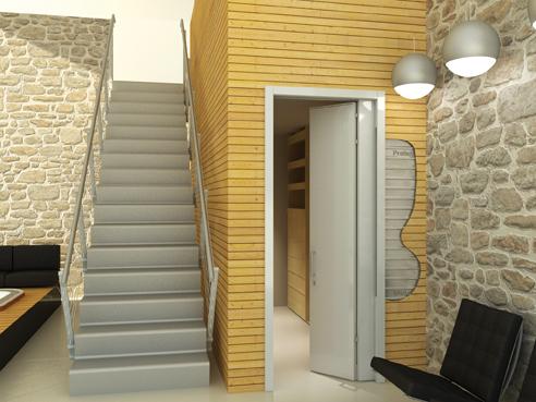 Controtelai da interno mezzo singolo e doppio - Costruire porta scorrevole ...