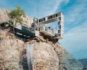 Mountain House, la casa che sfida la gravità