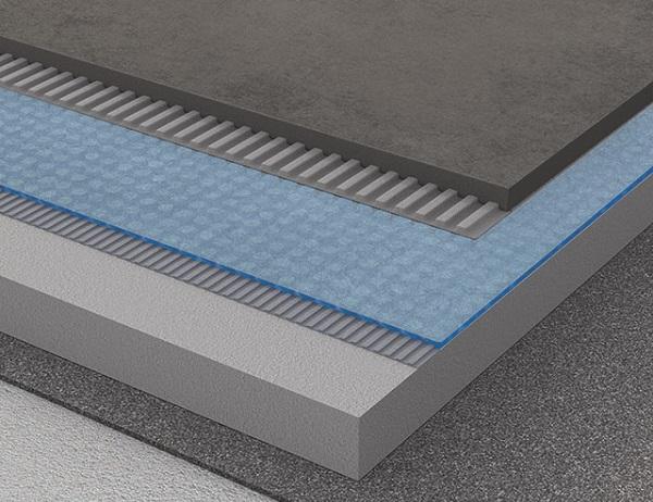 Stratigrafia della membrana Prodeso Drain
