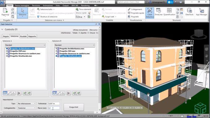 Navisworks è un software di revisione e gestione dei progetti per professionisti e team AEC