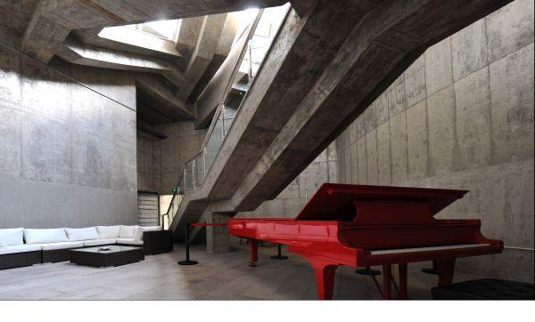 Il Ningbo Duao Art Museum si sviluppa su tre piani