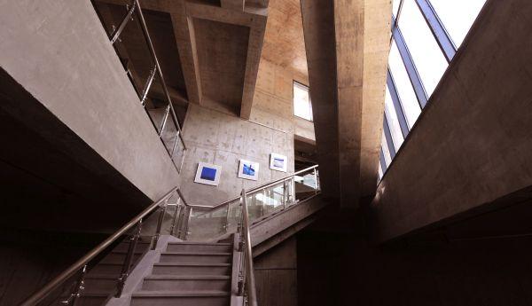 Interno del Ningbo Duao Art Museum di Progetto CMR