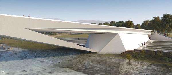 Dettaglio del ponte sul Piave