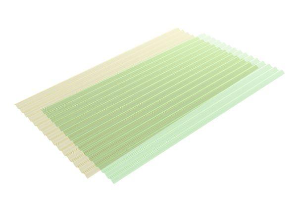 Onduclair lastre di copertura traslucide for Isolante termico bricoman