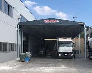 Capannoni industriali: la qualità Kopron per Temprasud