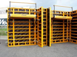 Sistemi di casseforme Ulma per pareti e pilastri in calcestruzzo