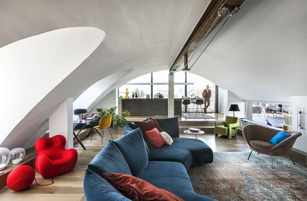 Edilizia Off-site: Padova. Gli interni dell'alloggio ristrutturato (foto Mattia Aquila)