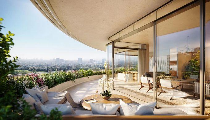 One Beverly hills: terrazza verde