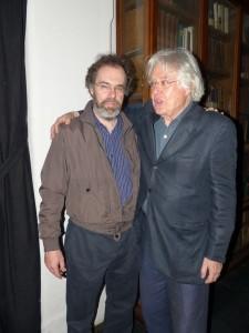 Claudio Sangiorgi con Luciano Tellaroli