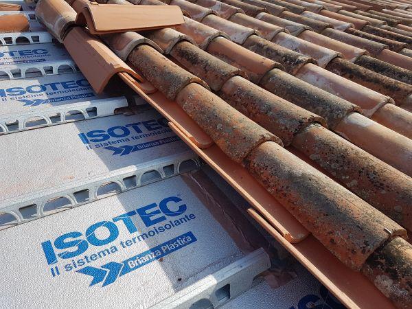 Il sistema ISOTEC XL Plus di Brianza Plastica scelto in un intervento di restauro del centro parrocchiale di Mandria