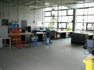 PAVIMENTO IN RESINA BASIC GF / ITA DRY-WET System 2