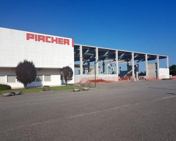 Ampliamento sede produttiva Pircher di Gazzuolo