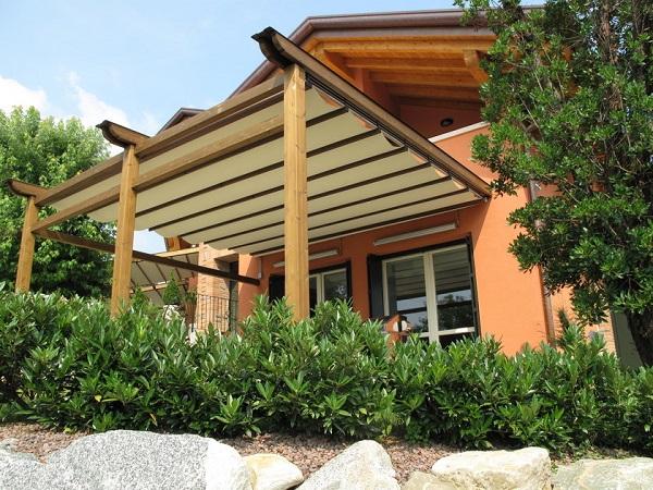 BT GROUP presenta la propria linea di pergolati in alluminio e legno