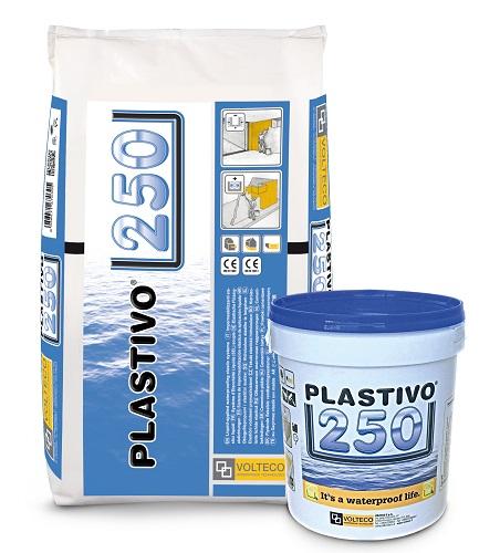 Rivestimento impermeabile ad elevata elasticità PLASTIVO 250