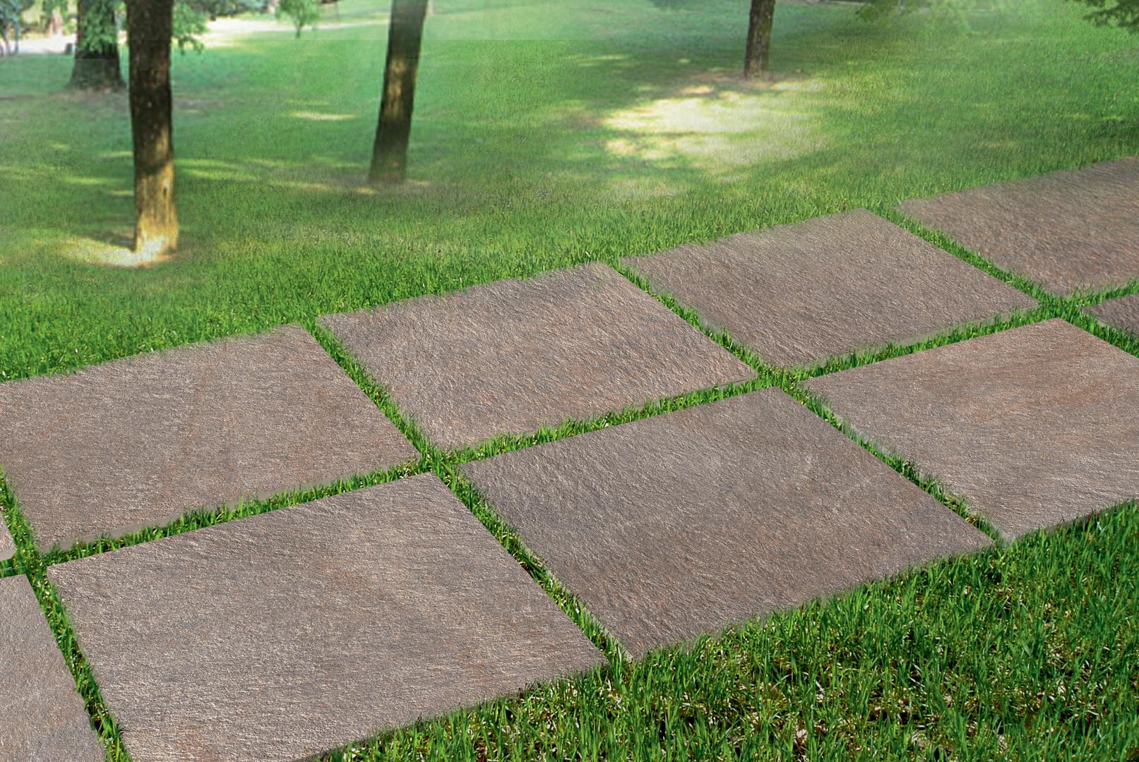 Posa Pavimento A Secco Giardino sistemi di isolamento termico: pavimenti a secco per esterni
