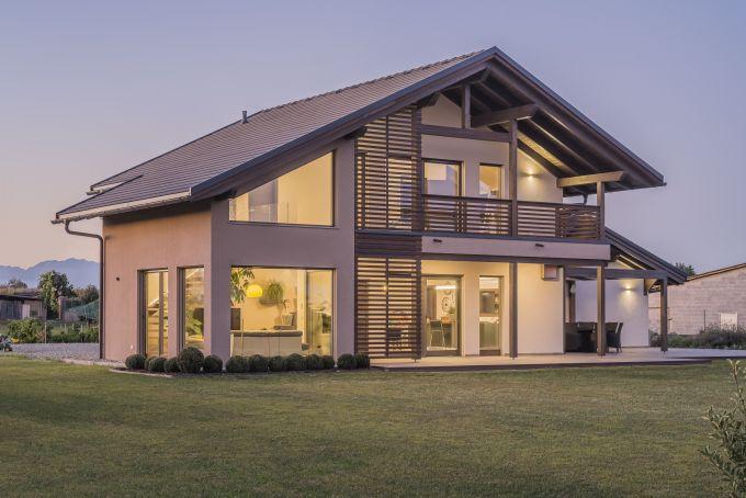 Rubner Haus - progetto Villa Perron