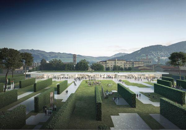 Progetto vincitore nel concorso internazionale per il nuovo Parco Centrale di Prato
