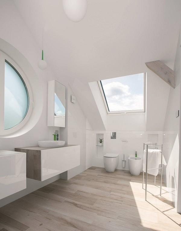 finestra anti umidità in ambiente bagno